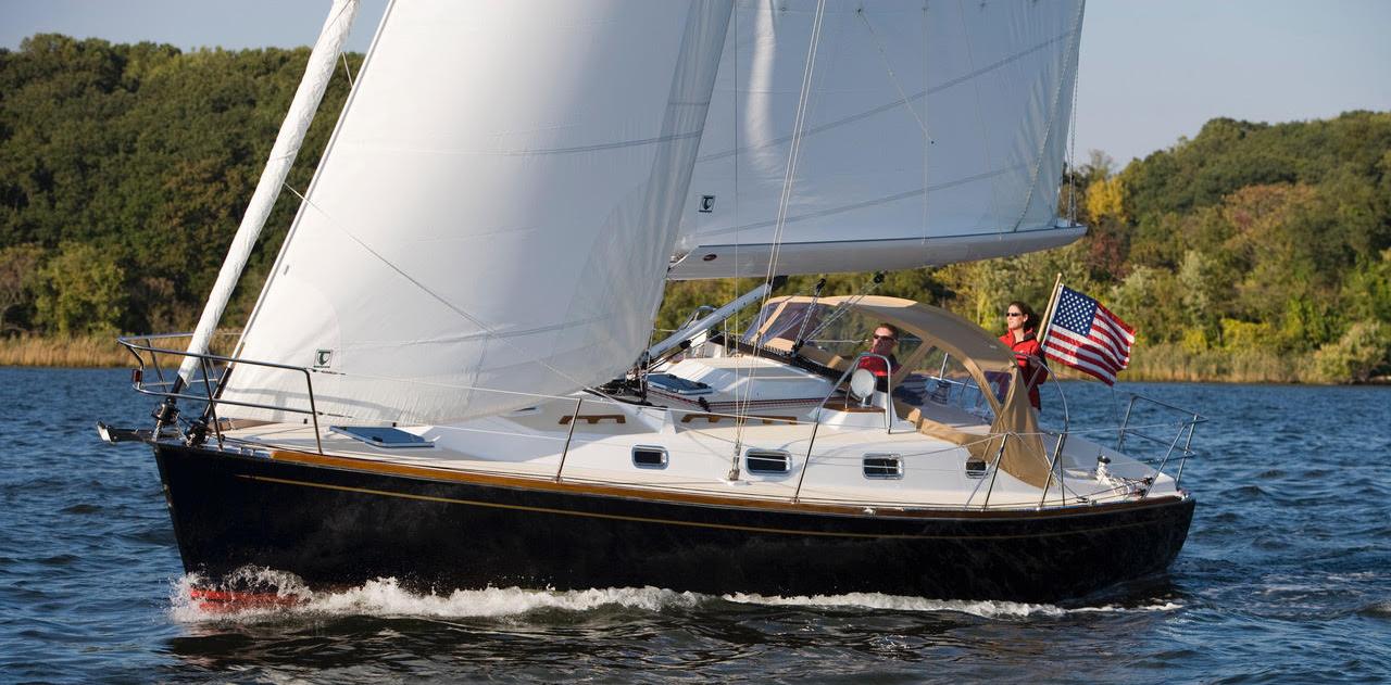 Tartan395 Sailing In Annapolis